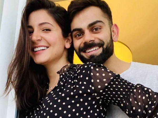 भारतीय किकेट टीम के कप्तान विराट कोहली ने 27 अगस्त को सोशल मीडिया पर पत्नी अनुष्का शर्मा के साथ फोटो शेयर कर अपने फैंस के साथ खुशखबरी शेयर की थी। - Dainik Bhaskar