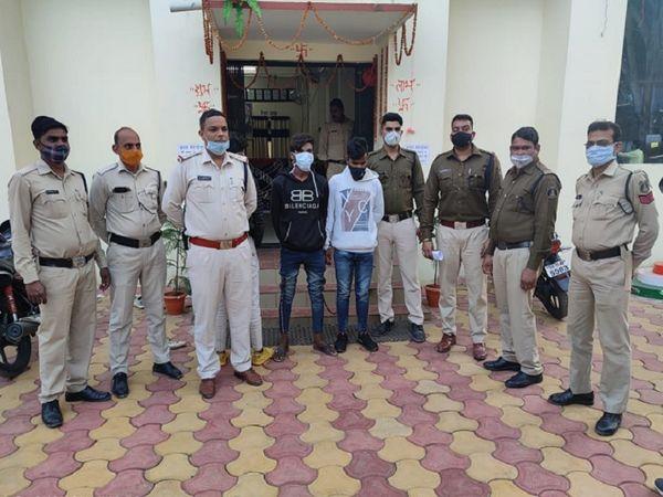 छत्तीसगढ़ के बिलासपुर में एक किशोरी से नाबालिग सहित 4 लोगों ने गैंगरेप किया। उसका वीडियो बना लिया और ब्लैकमेल करने लगे। पुलिस ने सभी आरोपियों को गिरफ्तार कर लिया है। - Dainik Bhaskar