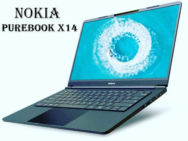 नोकिया प्योरबुक X14 एक 14-इंच की फुल एचडी एलईडी-बैकलिट डिस्प्ले के साथ आता है जो डॉल्बी विजन से लैस है। - Dainik Bhaskar