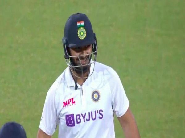 ऋषभ पंत ने ऑस्ट्रेलिया ए के खिलाफ दूसरे अभ्यास मैच में 73 बॉल पर 103 रन बनाए थे। - Dainik Bhaskar