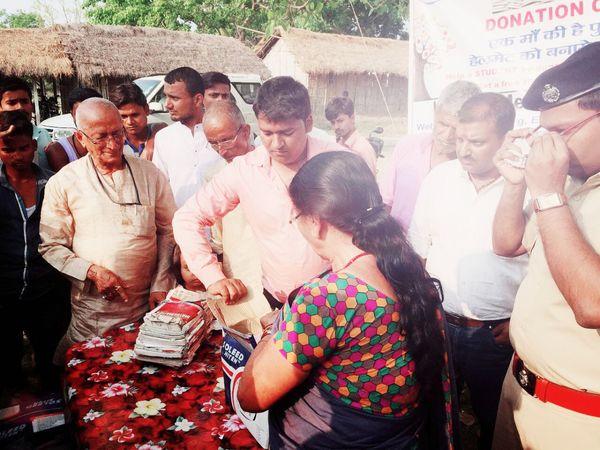 राघवेंद्र के अनुरोध पर कृष्ण के परिजनों ने उसकी किताबें जरूरतमंद बच्चों के लिए दान की थी।