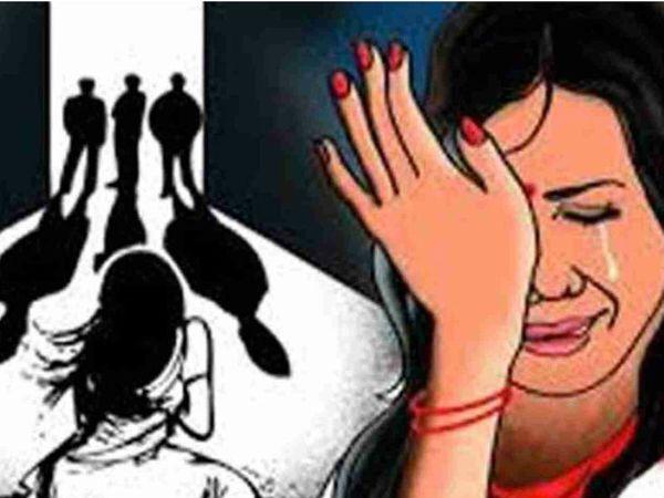 महिला ने 12 दिन बाद चंगुल से छूटकर आरोपियों के खिलाफ मामला दर्ज कराया।- प्रतीकात्मक फोटो - Dainik Bhaskar