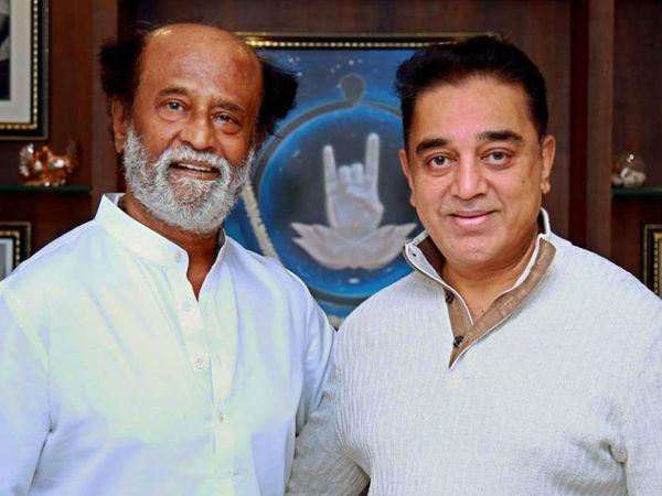 तमिलनाडु में अगले साल विधानसभा चुनाव होने हैं। राजनीति में सक्रिय दो सुपरस्टार कमल हासन और रजनीकांत एक-दूसरे के साथ आने की बात कह चुके हैं। -फाइल फोटो। - Dainik Bhaskar