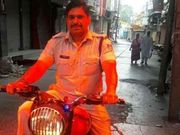 आरोपी बर्खास्त आरक्षक सुदेश खोड़े - Dainik Bhaskar