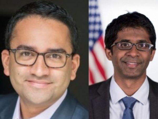 अमेरिका के प्रेसिडेंट इलेक्ट जो बाइडेन की टीम में गौतम राघवन (बाएं) और विनय रेड्डी (दाएं) को शामिल किया है। (फाइल फोटो) - Dainik Bhaskar