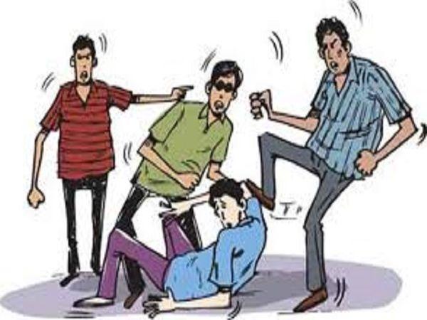 इस मामले में दोनों पक्षों के युवकों से विधानसभा थाना पुलिस पूछताछ कर रही है। सिंबॉलिक फोटो। - Dainik Bhaskar