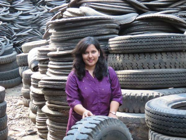 पूजा ने ट्रक और विमान के टायर के स्क्रैप से दो प्रोटोटाइप डिजाइन किए थे। इसके लिए उन्हें अपकमिंग वुमन एंटरप्रन्योर श्रेणी में 50,000 रुपए का पुरस्कार भी मिला।