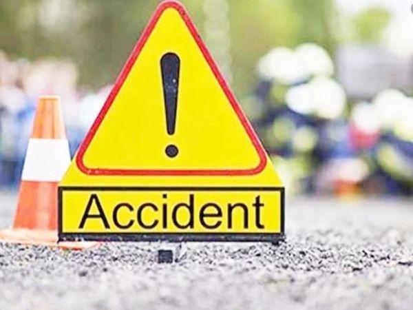 हादसे में घायल दो लोगों को चंडीगढ़ के एक अस्पताल में इलाज के लिए लाया गया, लेकिन दोनों को बचाया नहीं जा सका। - प्रतीकात्मक तस्वीर - Dainik Bhaskar