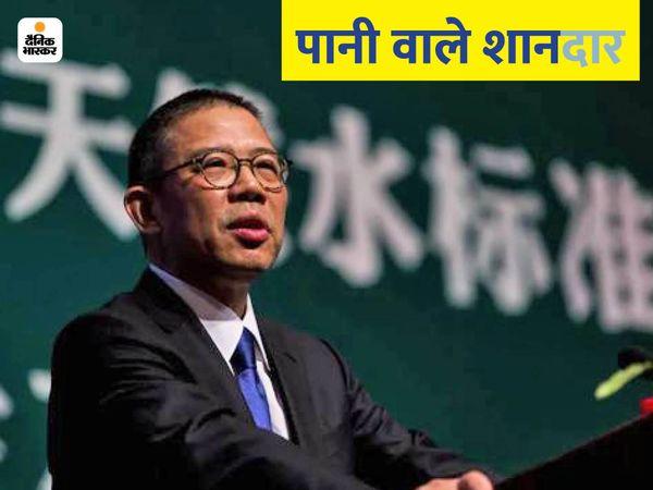 चीन के झोंग शानशान ने 1996 में बेवरेज कंपनी नोंगफू स्प्रिंग की स्थापना की थी।