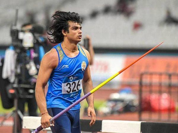 नीरज चोपड़ा टोक्यो ओलिंपिक के लिए क्वालिफाई कर चुके हैं। (फाइल फोटो) - Dainik Bhaskar