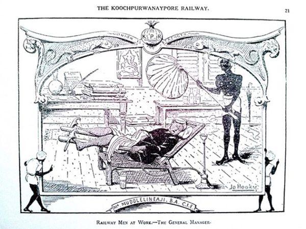 ग्रेट इंडियन पेनिनसुलर रेलवे की पत्रिका में छपने के बाद ये स्केच बुक बहुत मशहूर हुई थी।