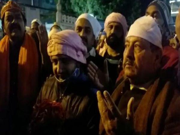 अमन चैन और खुशहाली के साथ कोरोना से निजात के लिए मांगी दुआ - Dainik Bhaskar