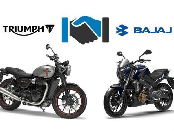 बजाज-ट्रायम्फ का पहली बाइक, ट्रायम्फ बोनेविले की तरह रेट्रो स्टाइल से इंस्पायर्ड हो सकती है। - Dainik Bhaskar