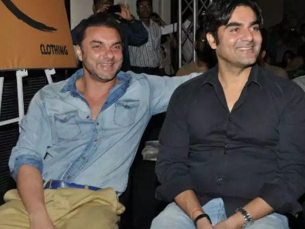 अभिनेता सोहेल खान और अरबाज खान 25 दिसंबर को UAE से मुंबई लौटे थे। (फाइल फोटो) - Dainik Bhaskar