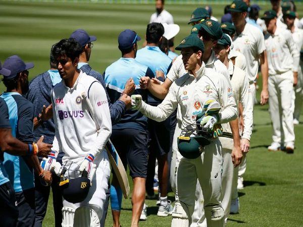 चार टेस्ट मैचाें की सीरीज में टीम इंडिया और ऑस्ट्रेलिया1-1 की बराबरी पर है। ऑस्ट्रेलिया ने एडिलेड टेस्ट तो भारत ने मेलबर्न टेस्ट में जीत हासिल की है। तीसरा टेस्ट मैच सिडनी में 7 जनवरी से है और चौथा टेस्ट  मैच 15 जनवरी से ब्रिस्बेन में है। - Dainik Bhaskar
