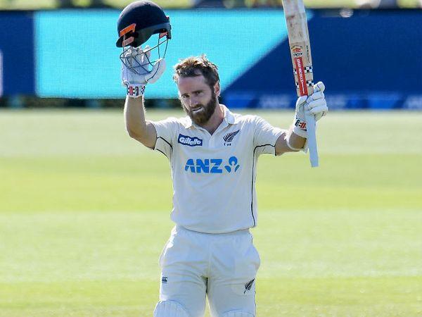 केन विलियम्सन ने पाकिस्तान के खिलाफ टेस्ट में 238 रन की पारी खेली। यह उनका ओवरऑल टेस्ट में चौथा दोहरा शतक है। - Dainik Bhaskar