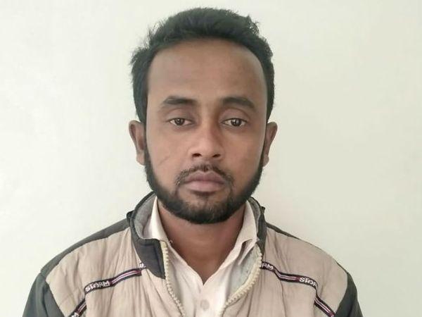 ATS ने संत कबीरनगर से अजीजुल हक नाम के एक रोहिंग्या को गिरफ्तार किया है। - Dainik Bhaskar