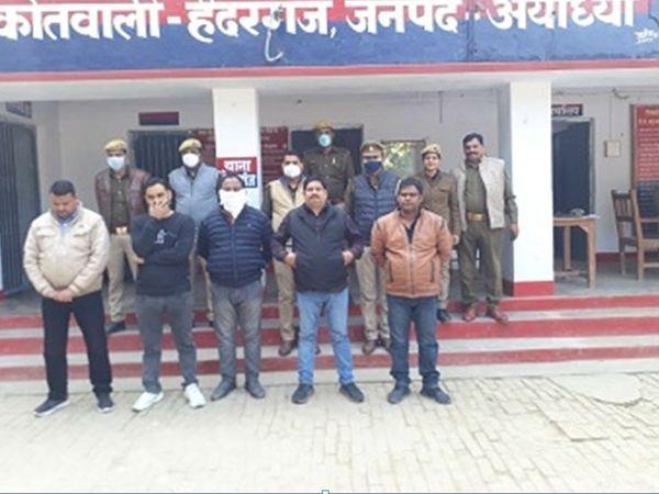 पुलिस ने आरोपियों को जेल भेज दिया है। - Dainik Bhaskar
