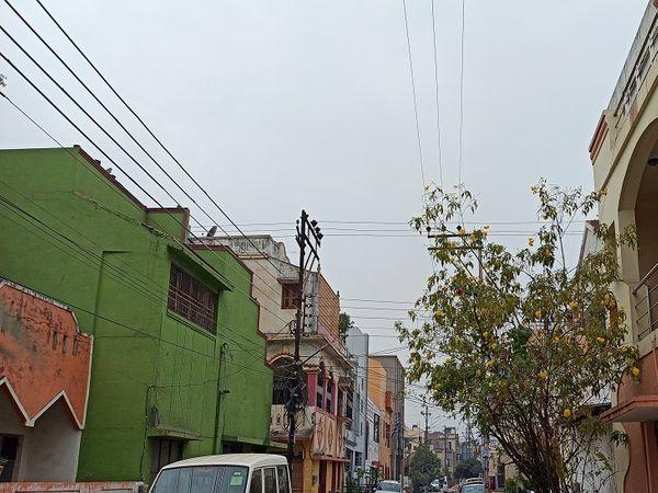 प्रदेश के अधिकांश हिस्सों में बादल छाए हुए हैं। रायपुर में सुबह हल्की बुंदाबादी भी हुई। - Dainik Bhaskar