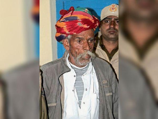 भैराराम देवासी काे शिवपुरा थाने की टीम ने किया गिरफ्तार। - Dainik Bhaskar