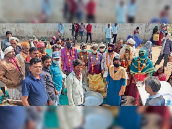 आलीराजपुर. जिले में उत्साह से अन्न उत्सव मनाया गया। - Dainik Bhaskar