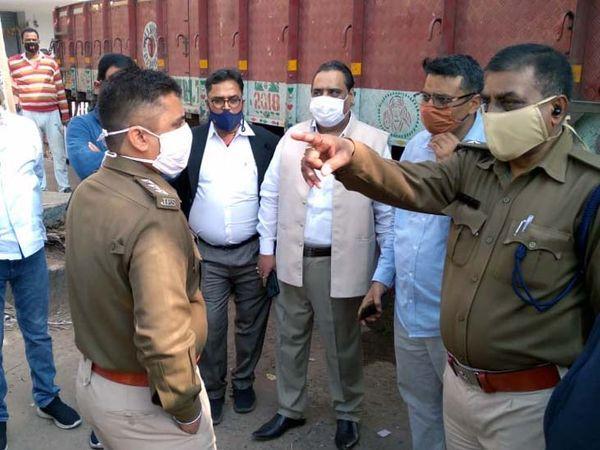 मामले की जांच में जुटी पुलिस। - Dainik Bhaskar