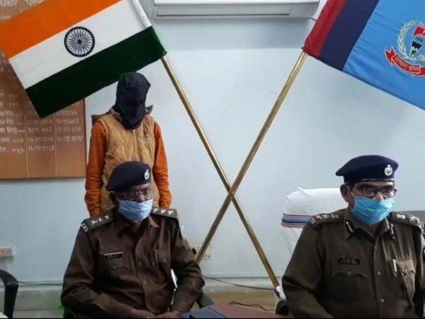 आरोपी दानिश अपना अपराध स्वीकार करते हुए पुलिस को बताया कि नुर्जला का दूसरे लड़के के साथ संबंध था। - Dainik Bhaskar