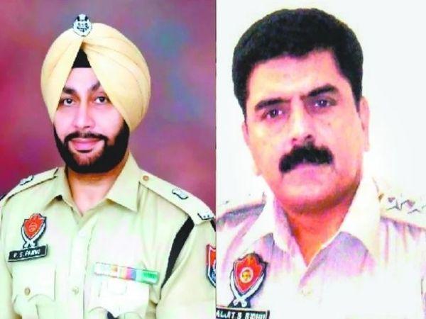 तत्कालीन DSP कोटकपूरा और वर्तमान में SP बलजीत सिंह सिद्धू और ADCP लुधियाना व वर्तमान में SP परमजीत सिंह पन्नू मामले में नामजद हैं। - Dainik Bhaskar