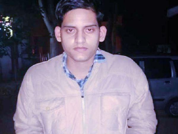 पुलिस ने बिकरु कांड के आखिरी आरोपी वितुल दुबे को पकड़ लिया है। पुलिस ने इस बदमाश पर 50 हजार रुपए का इनाम रखा था। - Dainik Bhaskar