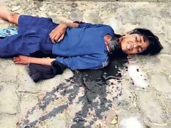 बड़ों की रंजिश के जख्म का दर्द मौत के बाद भी चेहरे पर - Dainik Bhaskar