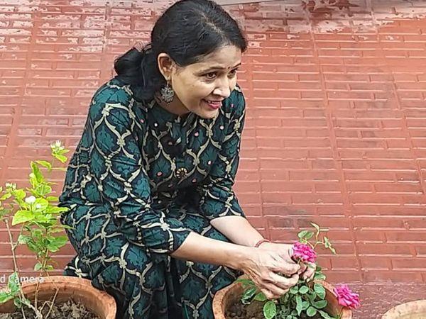 विद्या देवी जयपुर में गुर्जर की थड़ी स्थित एक सरकारी स्कूल में टीचर थीं।