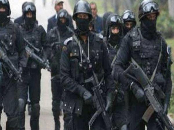 यूपी के प्रयागराज में लगे माघ मेले में एनएसजी कमांडो की तैनाती की गई है। - Dainik Bhaskar