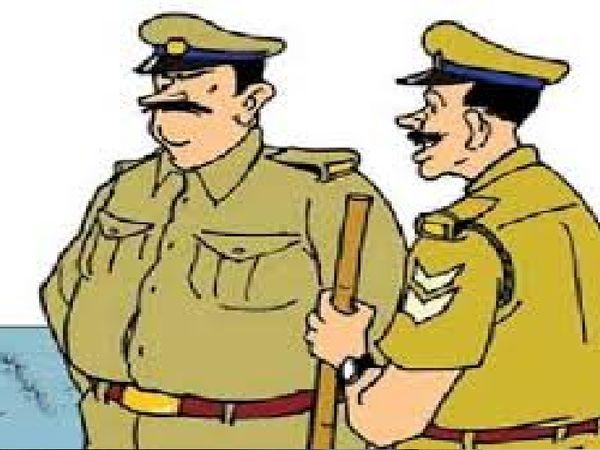 गुमशुदा युवती की बरामदगी की परिवार को खबर देने गए दरोगा पर हमला - Dainik Bhaskar