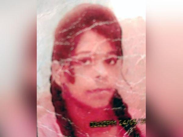 फरीदाबाद में मृत मिली उत्तर प्रदेश के अलीगढ़ की सरोज उर्फ शिवानी की फाइल फोटो। - Dainik Bhaskar
