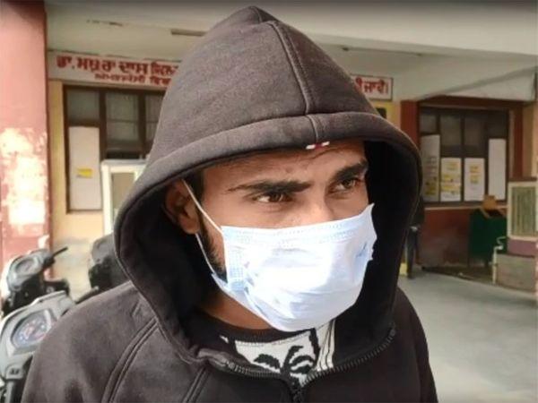 आरोपी बोला कि उसने चिट्टे का नश किया हुआ था, इसलिए वह ऐसी हरकत कर बैठा। - Dainik Bhaskar