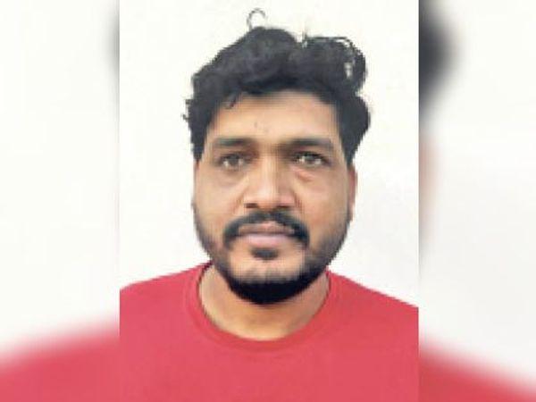आरोपी भैरव सिंह - Dainik Bhaskar