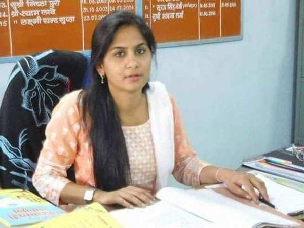 एसडीएम पिंकी मीणा इस समय जेल में है। एसीबी ने उन्हें रिश्वत के मामले में गिरफ्तार किया है। - Dainik Bhaskar