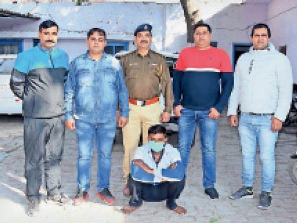 पानीपत. चोरी का माल रखने के मामले में गिरफ्तार मामा। - Dainik Bhaskar