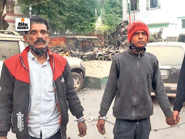 14 जनवरी को तड़के 4 बजे कार सवार 6-7 अपराधी पीतमपुरा स्थित ज्वेलरी दुकान पहुंचे। गार्ड को बंधक बना लगभग चार करोड़ की ज्वेलरी लूट ली। - Dainik Bhaskar