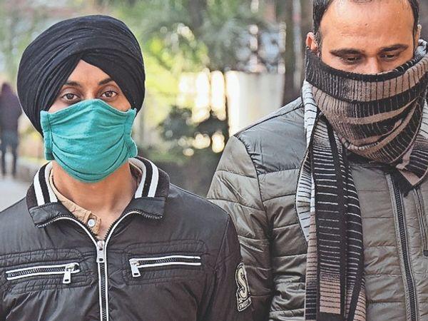 आरोपी कंवर सिंह रंधावा। - Dainik Bhaskar