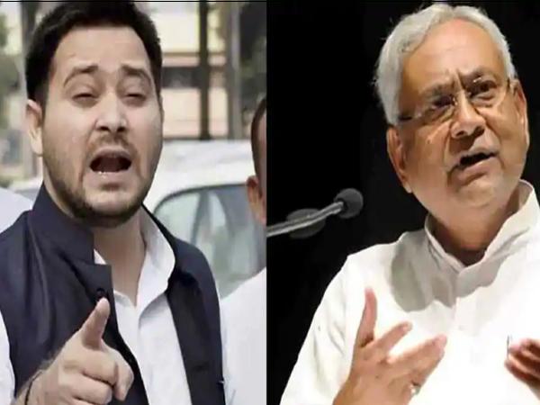 नेताप्रतिपक्ष तेजस्वी यादव और मुख्यमंत्री नीतीश कुमार। - Dainik Bhaskar