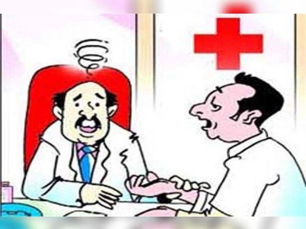 शहर सहित जिले में ऐसे 250 फर्जी डॉक्टर, मक्सी रोड पर आइल की दुकान में क्लिनिक - Dainik Bhaskar
