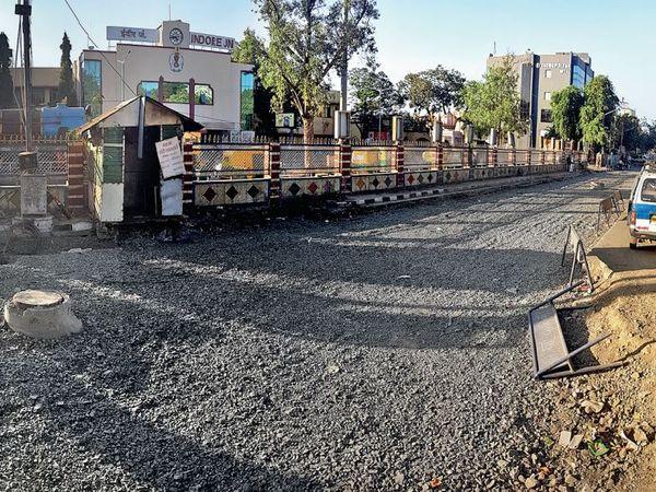 कभी रिकॉर्ड 115 दिन में बनाया था जवाहर मार्ग पर ब्रिज - Dainik Bhaskar