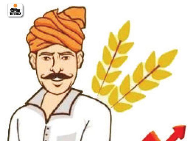 किसानाें काे सरकार ये पैसा डीबीटी काेषांग के जरिए सीधे उनके खाते में भेेजती है। - Dainik Bhaskar