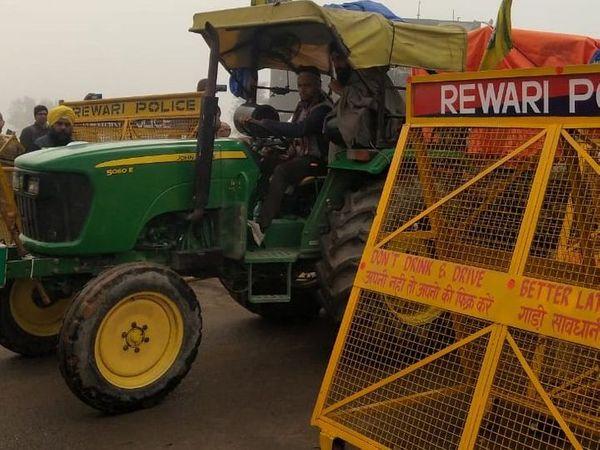 केंद्रीय कृषि कानूनों के विरोध में 26 जनवरी को किसानों के साथ कांग्रेस ने भी ट्रैक्टर रैली में निकालने का फैसला किया है। फाइल फोटो - Dainik Bhaskar