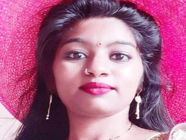 प्रिया की उसके प्रेमी ने कैंची घोंपकर हत्या कर दी थी। - Dainik Bhaskar