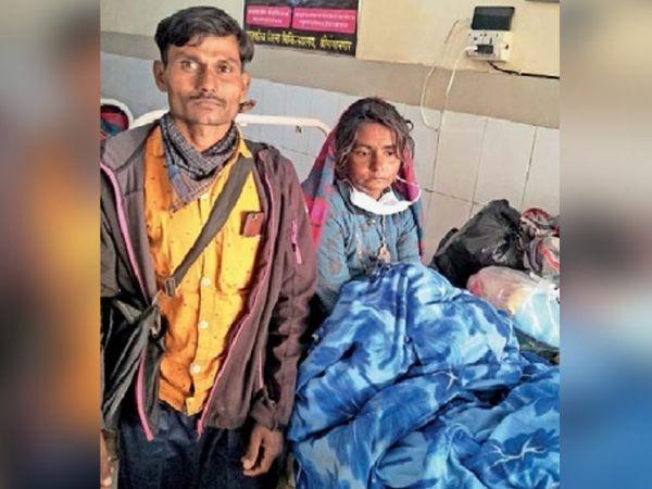 पाकिस्तान के सिंध प्रांत के रहने वाली रामीदेवी ने बुधवार रात बस में बच्चे को जन्म दिया था।