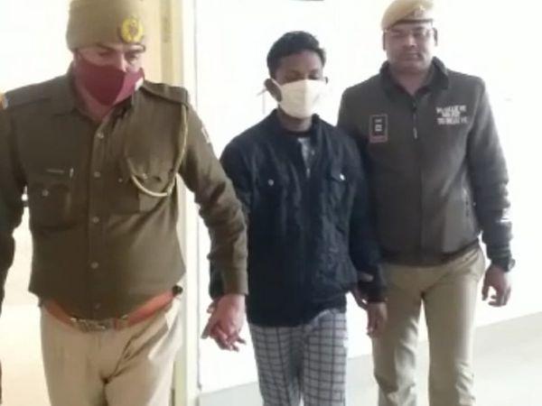 तीन साल पहले30 साल केराम सिंह ने अपने परिचित की 14 साल की बच्ची से रेप किया था। - Dainik Bhaskar