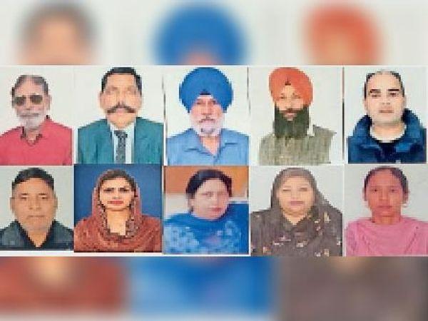 शिरोमणि अकाली दल की ओर से घोषित 10 नए उम्मीदवार। - Dainik Bhaskar