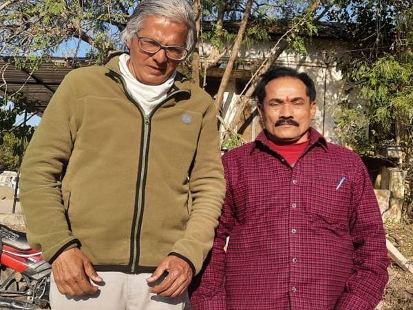 33 साल स्वास्थ्य विभाग में सेवाएं देने के बाद रिटायर हुए वनकर। - Dainik Bhaskar